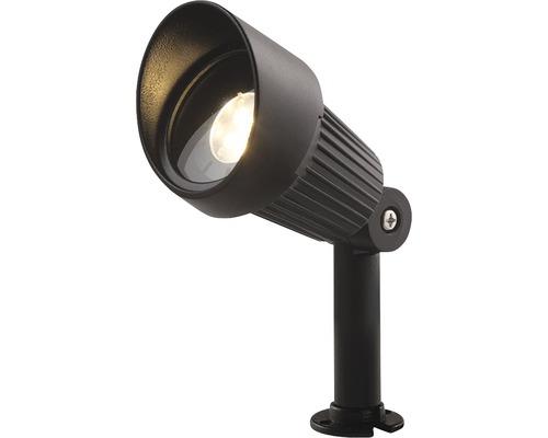 LED stĺpikové svietidlo VERONA, čierny