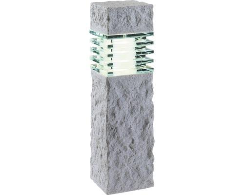 LED stĺpikové svietidlo ARAN IP44 GU5,3 3W 190lm 3000K vzhľad kameňa