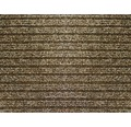 Čistiaca rohožka CAPRI hnedá 1 m (šírka)