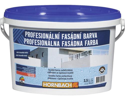 Profesionálna fasádna farba Hornbach biela 2,5 l