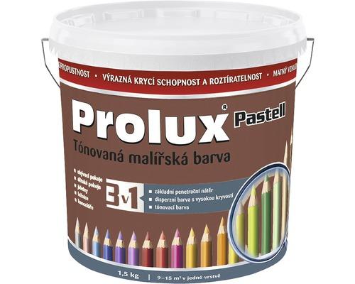 Oteruvzdorná farba na stenu Prolux Pastell hnedá 1,5 kg