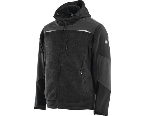 Pracovná bunda s kapucňou Hammer Workwear čierna, veľkosť XL