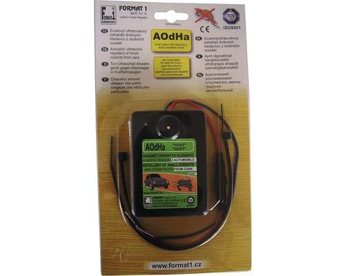 Odpudzovač hlodavcov zvukový ultrazvukový AOdHa 12 V do automobilov