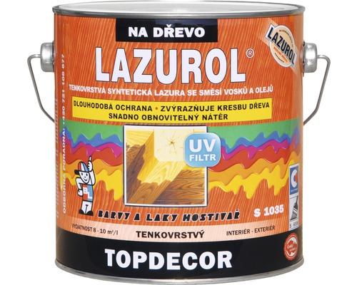 Lazurol TOPDECOR S1035 T60 pínie 2,5 L