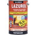 Lazurol TOPDECOR S1035 T20 gaštan 4,5L