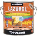 Lazurol TOPDECOR S1035 T20 gaštan 2,5 L