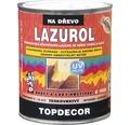 Lazurol TOPDECOR S1035 T20 gaštan 0,75L
