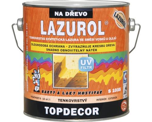 Lazurol TOPDECOR S1035 T21 orech 2,5 L