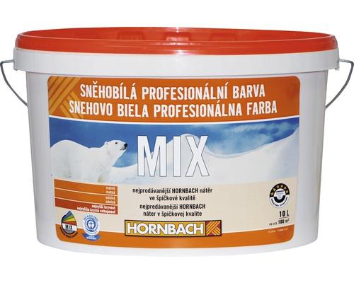 Snehobiela profesionálna farba Hornbach MIX, báza B 10l