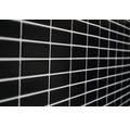 Keramická mozaika ST 350 čierna 29,1 x 30 cm