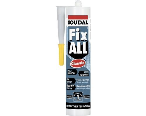 Lepiaci tmel Soudal Fix All Classic 290 ml tmavo hnedý