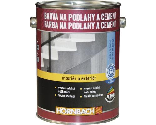 Farba na betón Hornbach svetlosivá, hodvábne lesklá 2,5 l