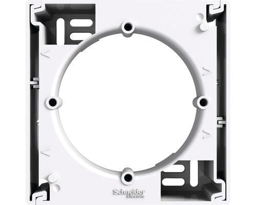 Inštalačná krabica pre povrchovú montáž Asfora biela